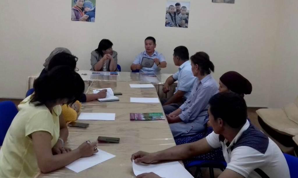 В Ошской области продолжаются мероприятия в рамках реализации Концепции по повышению Индекса доверия населения к Министерству юстиции Кыргызской Республики на 2017 год