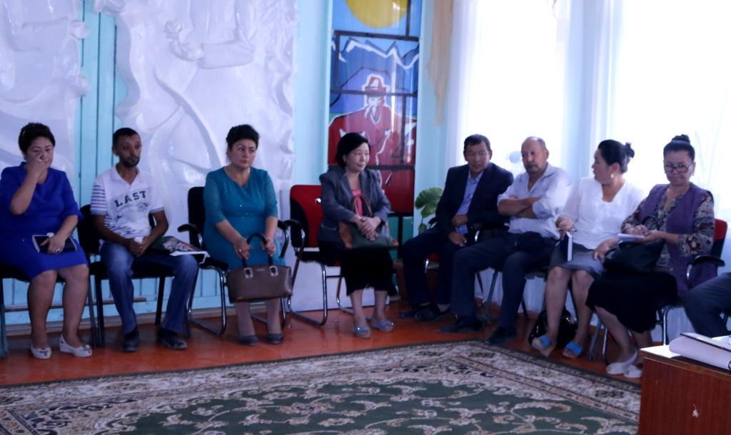 В Ала-Букинском районе Джалал-Абадской области прошел семинар для работников органов местного самоуправления