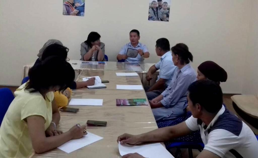 В Ошской области продолжаются мероприятия в рамках повышения Индекса доверия населения к Министерству юстиции Кыргызской Республики