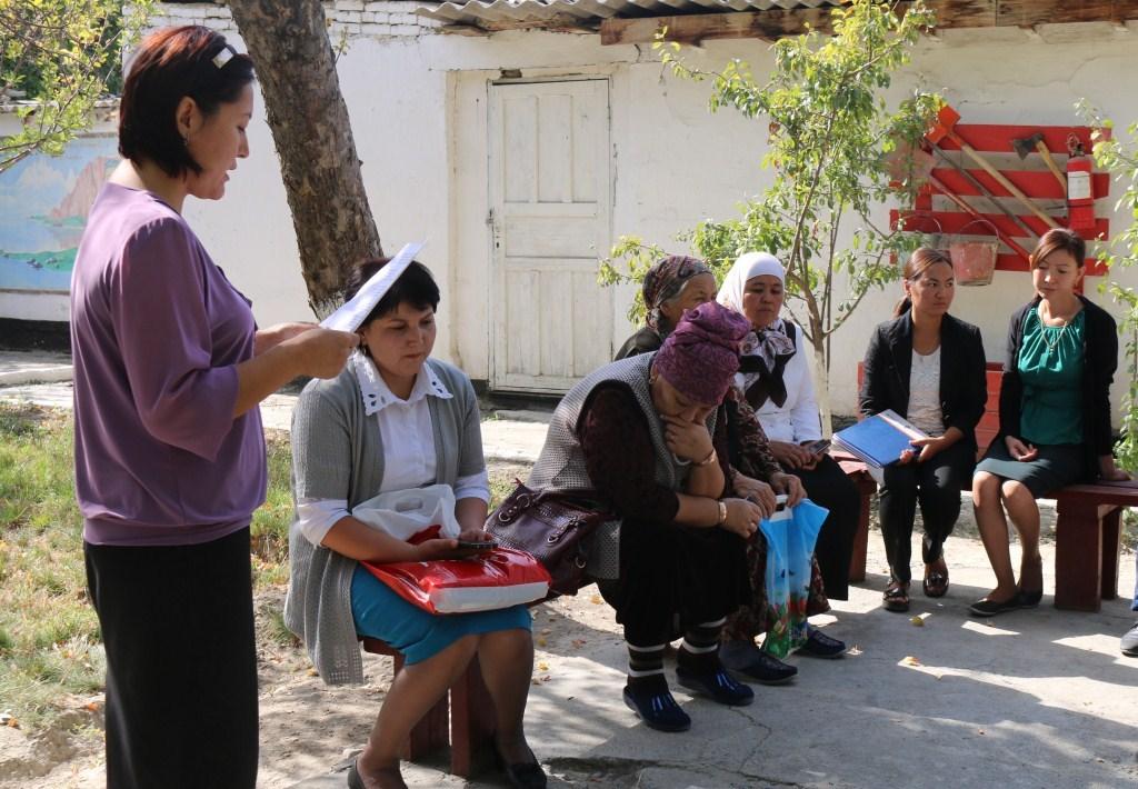 Баткен облусунун Юстиция башкармалыгында 23-сентябрь Мамлекеттик тил күнүнө карата иш-чара өткөрүлдү
