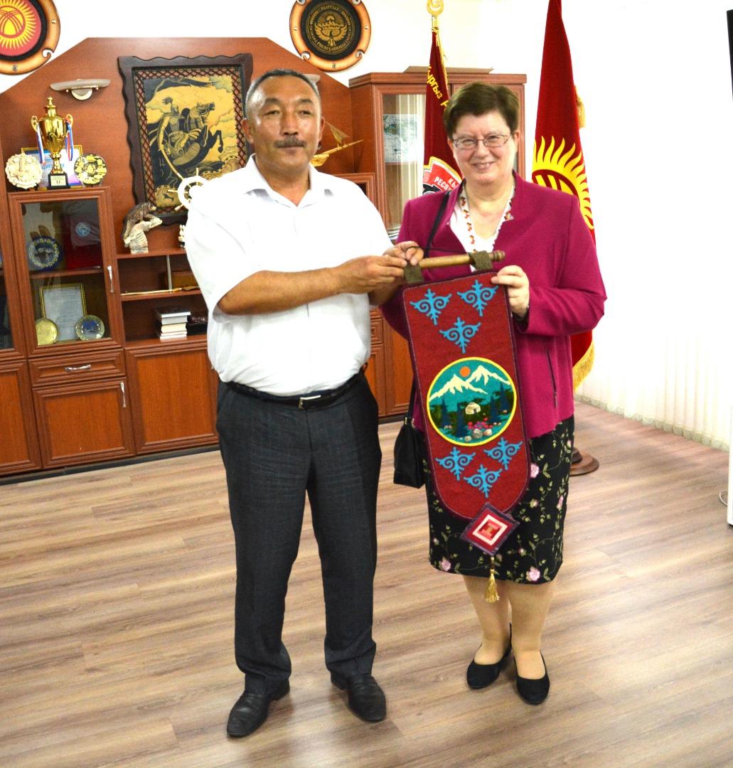 В ГСИН при Министерстве юстиции Кыргызской Республики обсудили вопросы сотрудничества