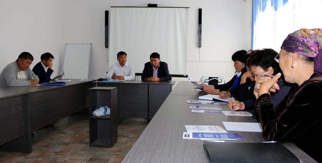 Управление юстиции Иссык-Кульской области оказывает содействие органам местного самоуправления по вопросам  нормативных правовых актов