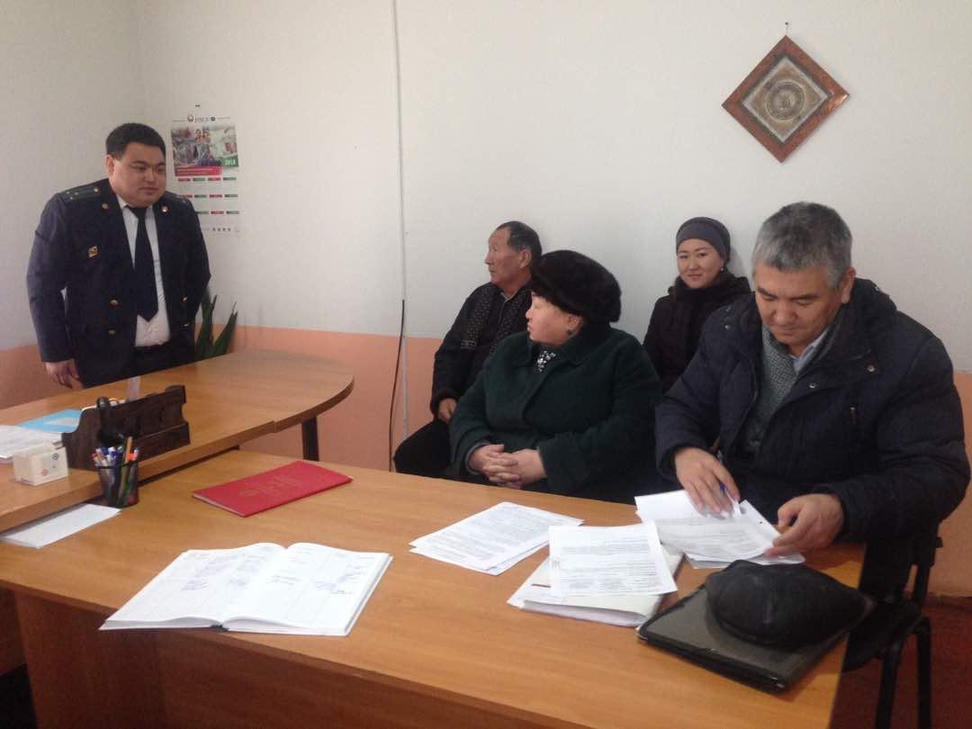 Управлением юстиции Ошской области и города Ош проводится работа по оказанию правовой помощи гражданам.