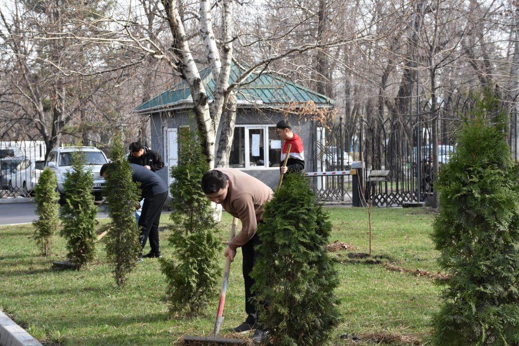 Кыргыз Республикасынын Юстиция министрлиги ишембилик өткөрдү