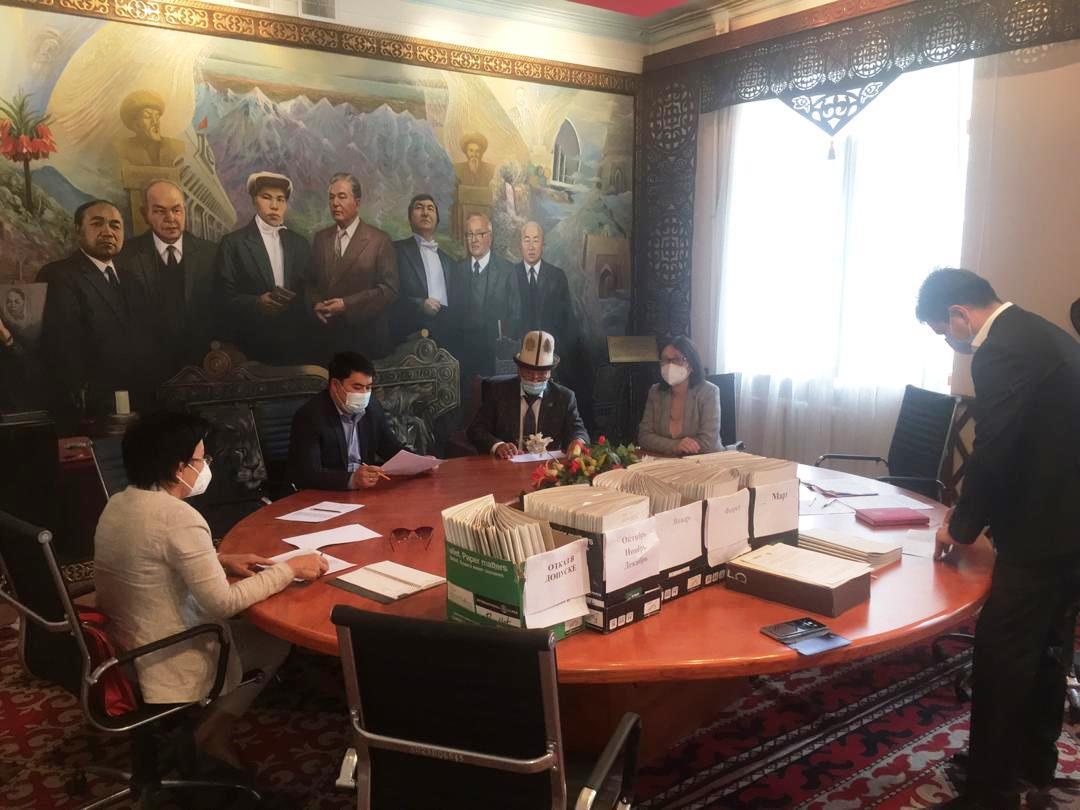 Квалификационной комиссией при Министерстве юстиции Кыргызской Республики по вопросам адвокатской деятельности проведено очередное заседание