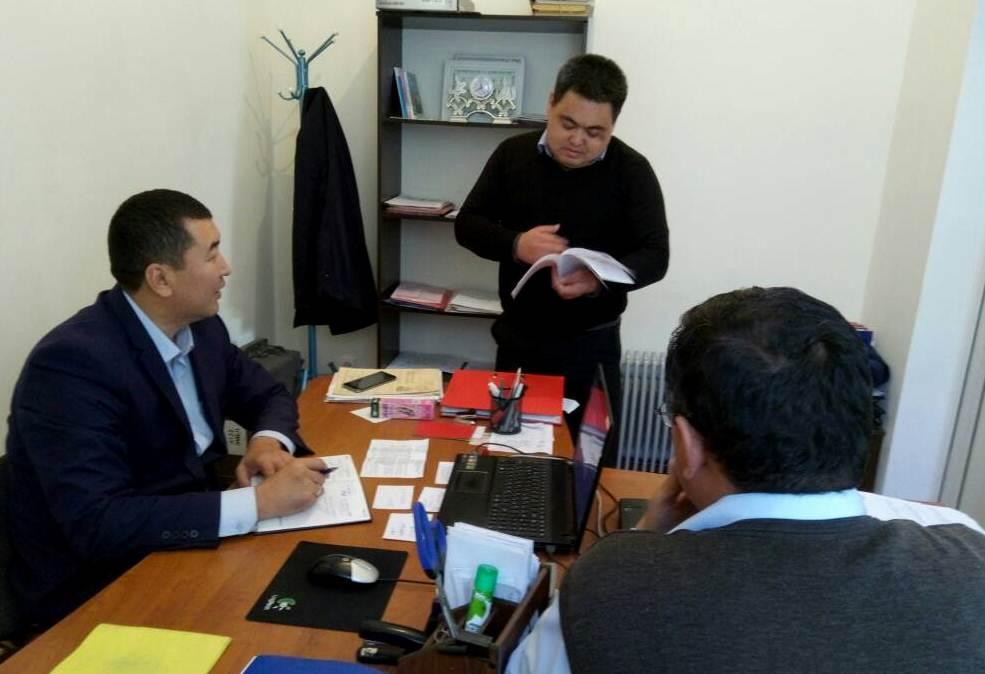 Ош облусунун жана Ош шаарынын юстиция башкармалыгында Кыргыз Республикасынын Административдик жоопкерчилик жөнүндө кодексине өзгөртүүлөрдү киргизүү тууралуу карата иш-чара болуп өттү