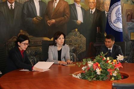 Коллективу Министерства юстиции КР представлен новый заместитель министра юстиции КР Максатбек Есеналиев