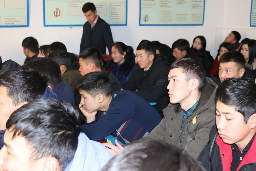 Ысык-Көл облусунун студенттерине жаңы жазык мыйзамдар боюнча түшүндүрүү иштери жүргүзүлүүдө