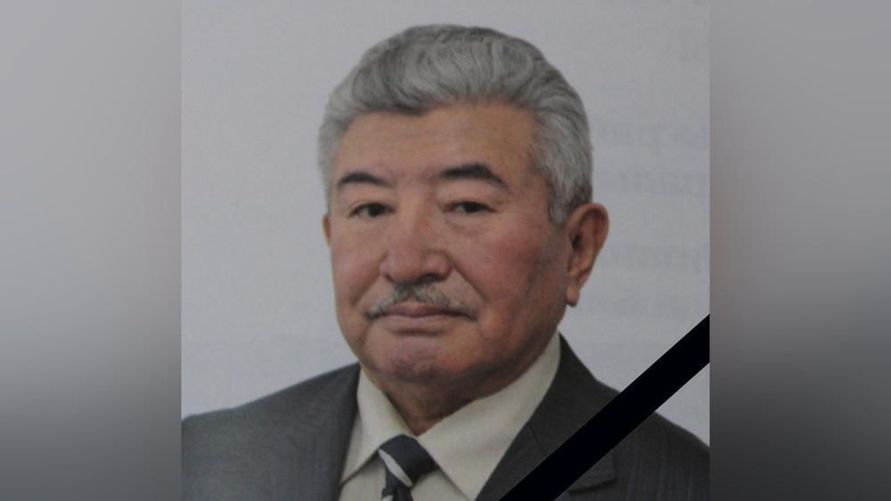 Кыргыз Республикасынын эмгек сиңирген юристи Акылбек Маткеримовдун некрологу