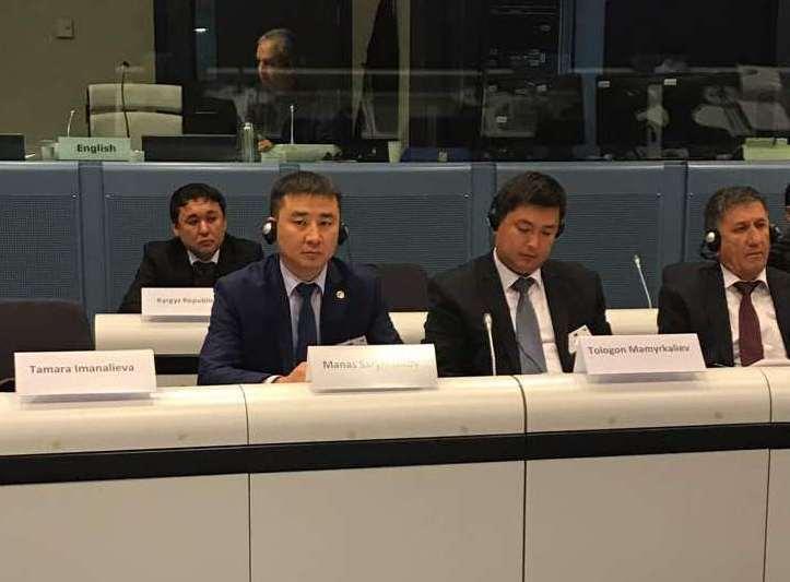 Заместитель министра юстиции Кыргызской Республики Манас Сарымсаков принял участие в Пятой Конференции министров стран Центральной Азии и ЕС по вопросам верховенства права