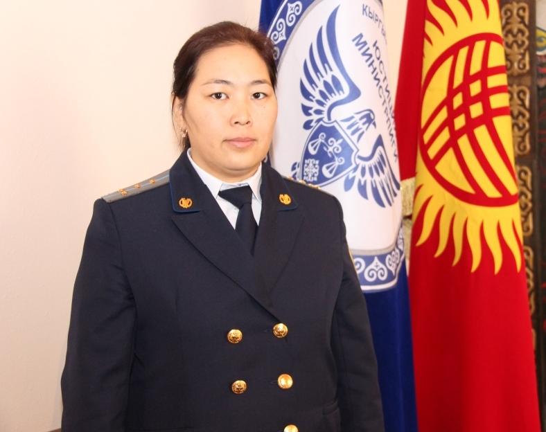 Нарын облусунун Юстиция башкармалыгынын жамаатына Гүлгакы Абдуллаева тааныштырылды