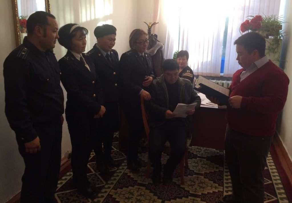 Управлением юстиции Иссык-Кульской области проведено несколько  мероприятий, посвященных Всемирному дню борьбы с коррупцией