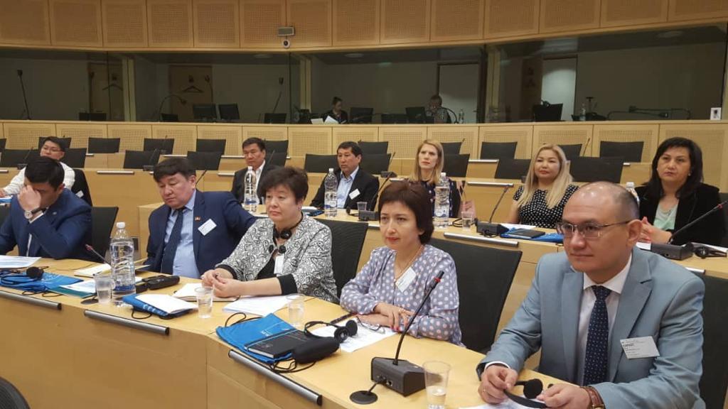 Кыргызстандын делегациясы Европа Кеңешинде окуу визити менен жүрөт