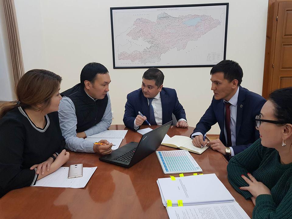 Министр юстиции Кыргызской Республики Уран Ахметов обсудил с представителями Датского института по правам человека вопросы дальнейшего сотрудничества