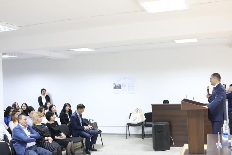 Уран Ахметов провел гостевую лекцию  для студентов юридического факультета Международного университета Кыргызстана