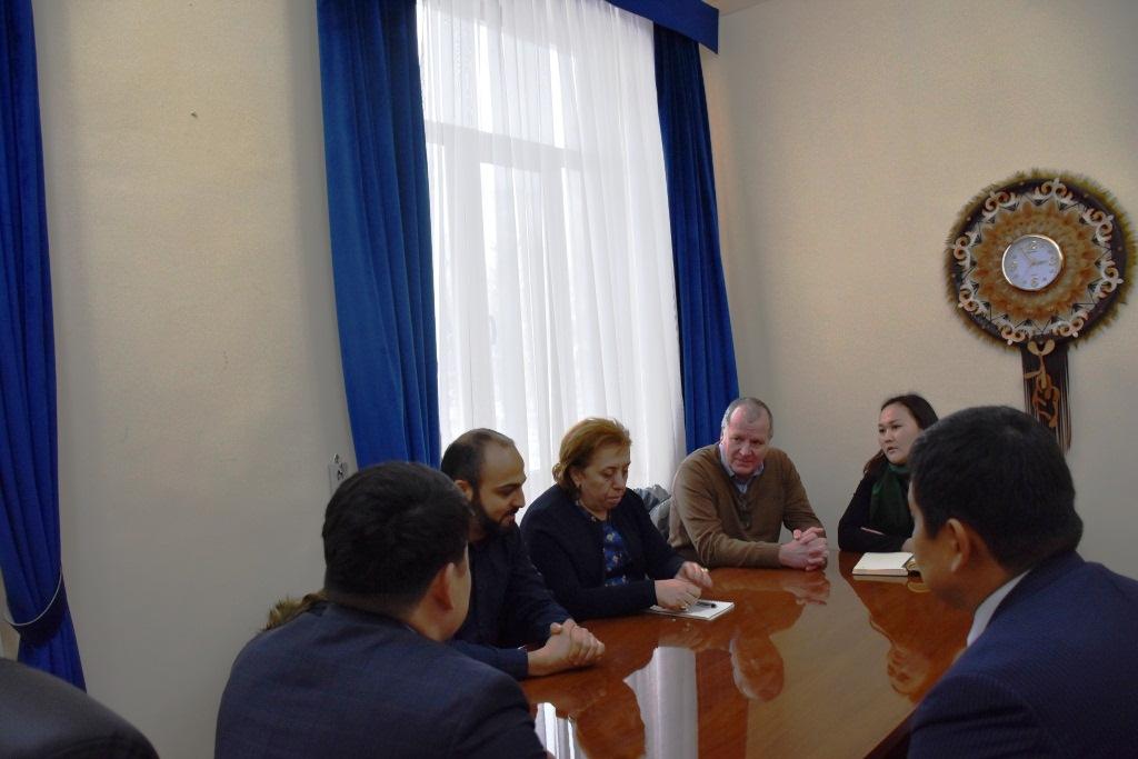 В Министерстве юстиции Кыргызской Республики состоялась встреча с представителями Миссии Международного Комитета Красного Креста в Кыргызской Республике