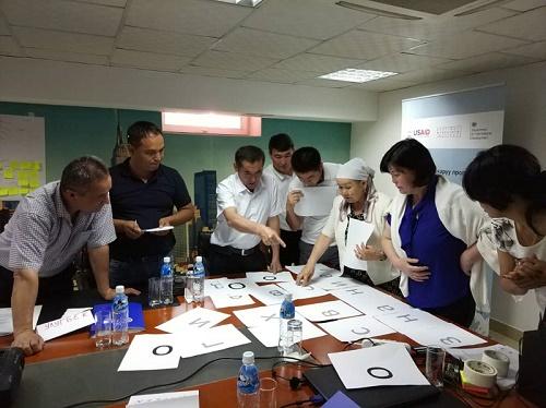 Центр по координации гарантированной государством юридической помощи провел обучающий тренинг для сотрудников-консультантов