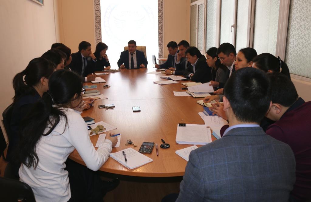 В Министерстве юстиции Кыргызской Республики прошло обсуждение проекта Национальной стратегии устойчивого развития КР  на 2018-2040 гг.