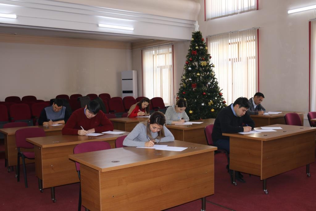Продолжается конкурсный отбор на замещение вакантных административных государственных гражданских должностей Департамента пробации при Министерстве юстиции Кыргызской Республики