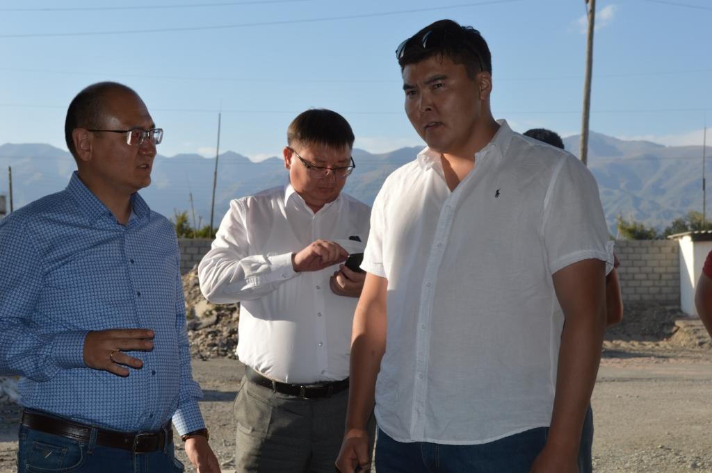 Строительство мясоперерабатывающего комбината в городе Балыкчы