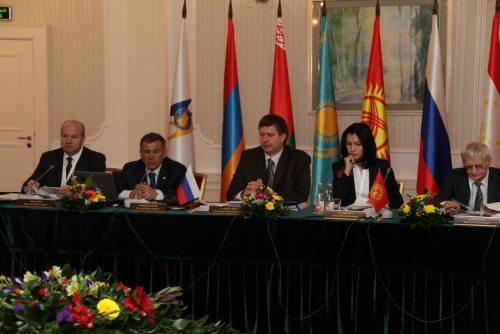 16-е заседание Совета министров юстиции государств-членов ЕврАзЭС (г.Казань, РФ)