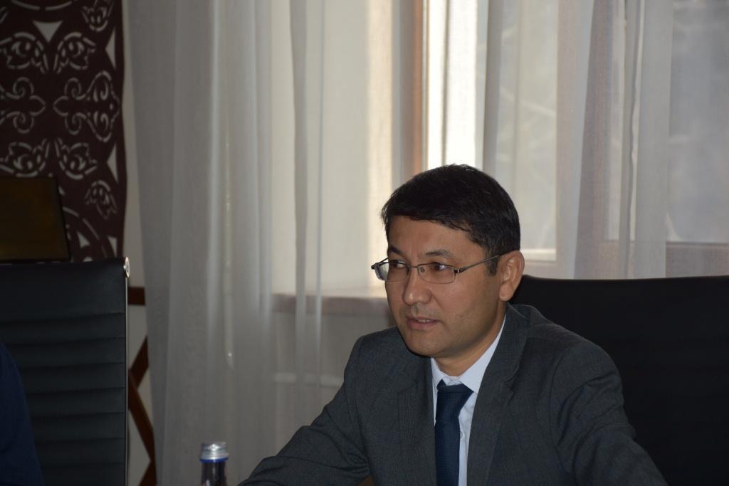 Встреча заместителя министра юстиции М. Есеналиева с представителями УВКБ ООН