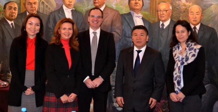 главное фото к встрече министра